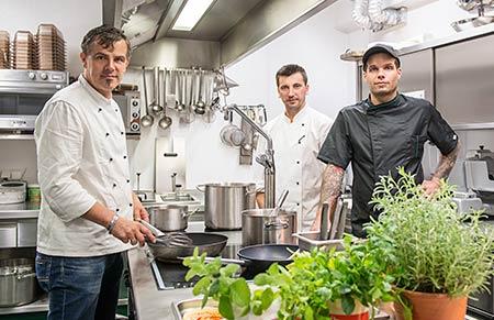 Restaurant Gasthof Wirtshaus Seewirt Zauner Köche Chef Küche Gastro